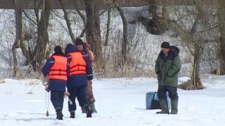 Рыбакам на лёд нельзя: спасатели перешли на усиленное патрулирование водоёмов