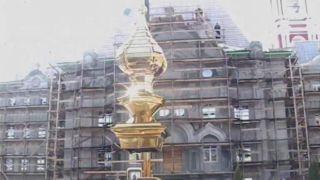 Здание Тамбовской духовной семинарии украсил купол домовой церкви