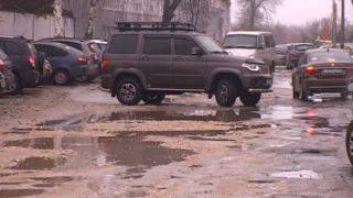 Гарантийные дороги в Тамбове дали трещину