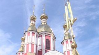 Митрополит Феодосий освятил купол и крест Тамбовской духовной семинарии