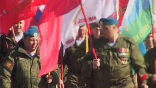 Тамбовские десантники отправились пешком в Смоленск