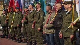 «Пеший марш Победы» тамбовских десантников