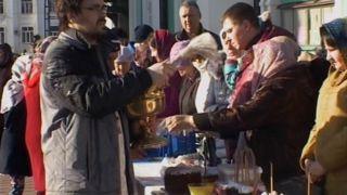 В Великую Субботу тысячи верующих освятили в тамбовских храмах куличи, пасхи и яйца