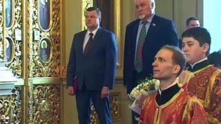 Александр Никитин поздравил с Пасхой митрополита Тамбовского и Рассказовского Феодосия