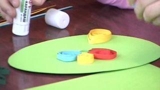 Мастер-класс для детей провели в картинной галерее