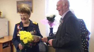 Ветерана Великой Отечественной войны Марию Воеводину поздравляют с 96-летием