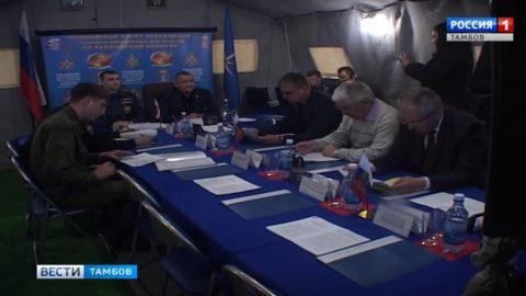 Олег Иванов выступил с докладом перед руководством всероссийских командно-штабных учений