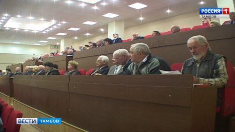 Ветераны поддержали идею создания в Тамбове мемориала памяти погибших солдат