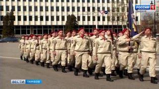 На параде Победы в Тамбове впервые прошествуют юнармейцы