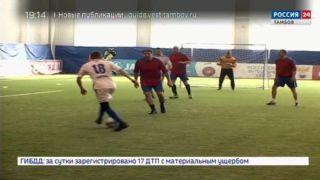 Силовики из различных ведомств сошлись в схватке в футбольном манеже