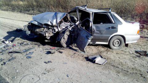 В Рассказовском районе Chevrolet «лоб в лоб» врезался в ВАЗ
