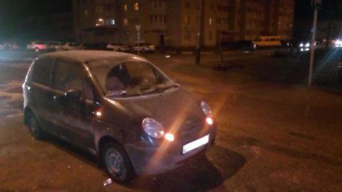 В Тамбове Daewoo Matiz сбил девушку на пешеходном переходе