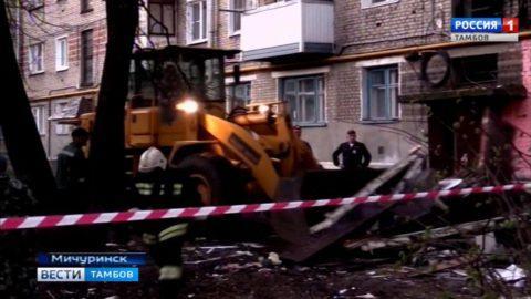 Из пострадавшего дома эвакуировали 25 человек