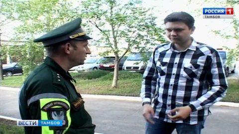 Старший инспектор 69-ой военной автоинспекции подряд занял 1-ое место на региональном этапе конкурса «Дорожный патруль»