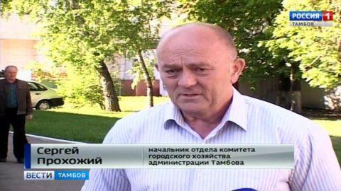 Сергей Прохожий, начальник отдела комитета городского хозяйства администрации Тамбова