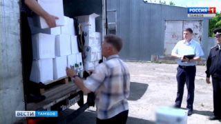 Более 7 тысяч бутылок суррогатного алкоголя изъяли тамбовские полицейские