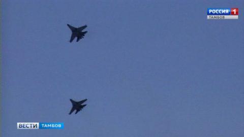 «Соколы России» на авиашоу в Тамбове были на высоте