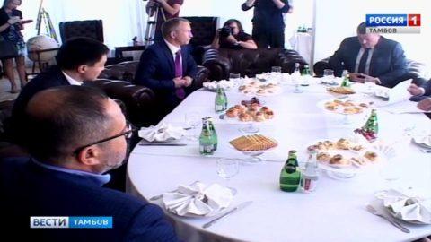 Тамбовское зерно заинтересовало бизнесменов из Турции