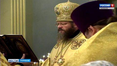 Духовенство и верующие проводили ковчег с частицей мощей Матроны Московской