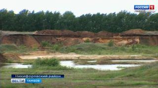 «Откусили» лишнее: Россельхознадзор проверяет разработку песчаного карьера