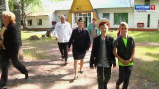 Активисты Общественного совета при УМВД области посетили лагерь «Росинка»