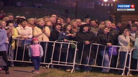 Московское попурри оркестра Росгвардии на фестивале в Тамбове