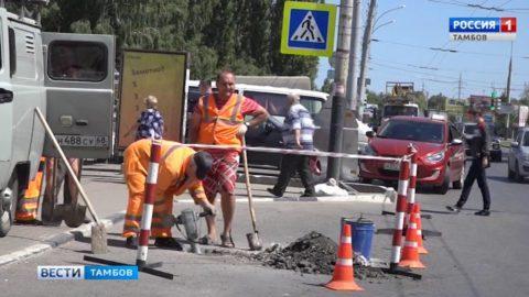 В Тамбове в этом году заработают 5 новых светофоров