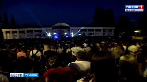 Весело быть молодым: большой праздник в Тамбове