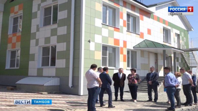 На улице Сабуровской Тамбова построят два новых детских сада