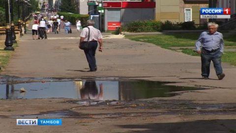 В Тамбове впервые за 7 лет капитально отремонтируют улицу Интернациональную