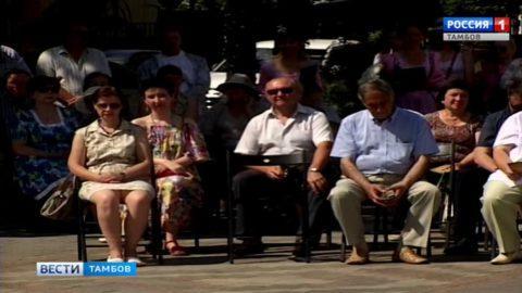 На праздник ко 275-летию со дня рождения Г.Р. Державина приехали гости из разных регионов страны