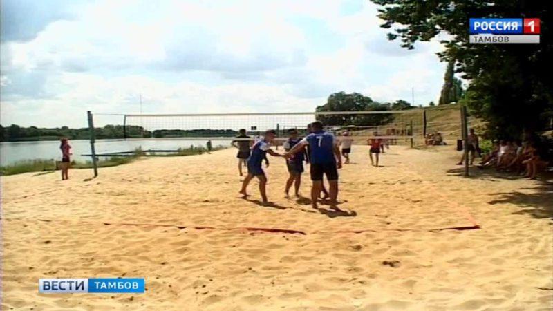 В Тамбове провели открытый чемпионат по пляжному волейболу