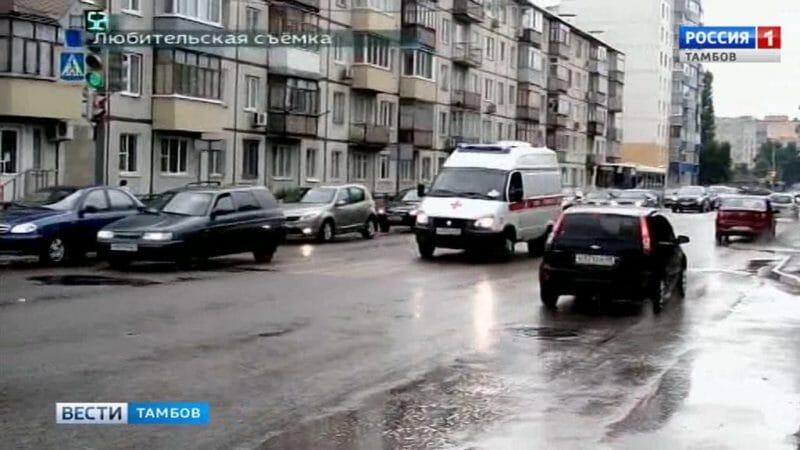 Автоледи пострадала в результате ДТП на Карла Маркса