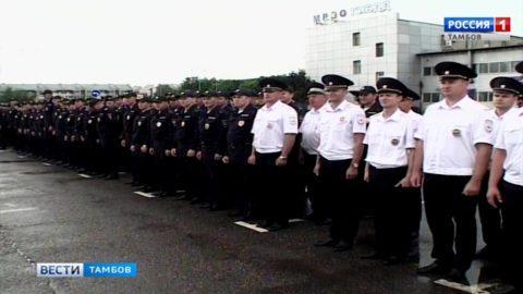 Тамбовские полицейские вернулись из командировки в Саранск