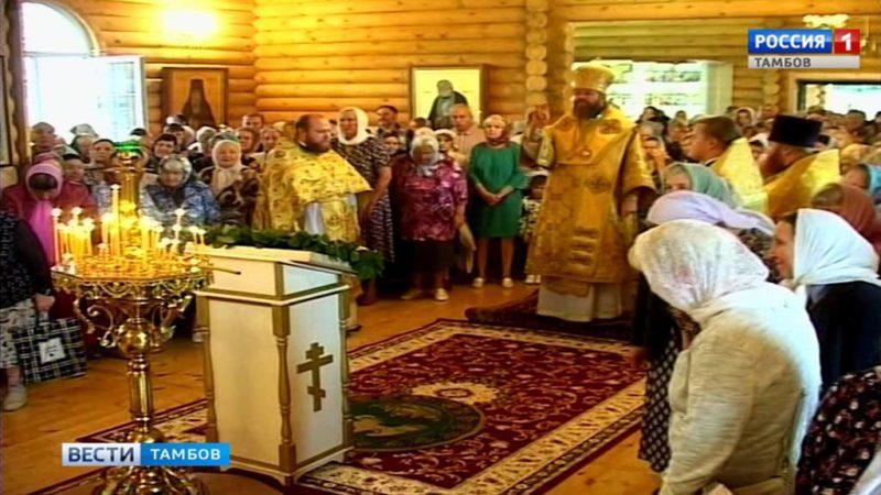 Митрополит Феодосий освятил новый храм в Лётке