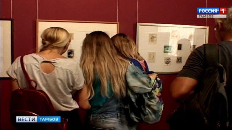 Выставку экслибрисов из коллекции братьев Черновых открыли в областной картинной галерее