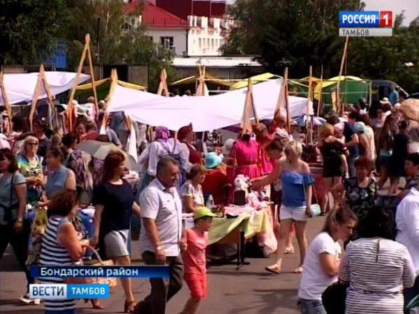 Жители области «прокатились» на «Бондарской карусели»