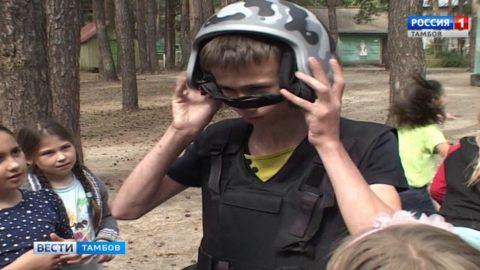 Росгвардейцы провели мастер-класс по самообороне для детей