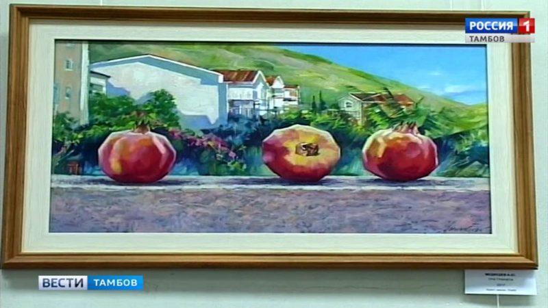 Тамбовские художники рисуют «Мелодии лета»