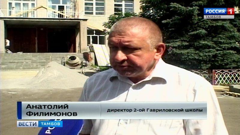 Анатолий Филимонов, директор 2-ой Гавриловской школы