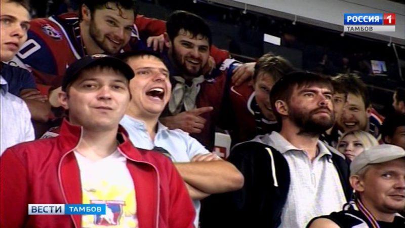 ХК «Тамбов» переиграл воронежский «Буран»