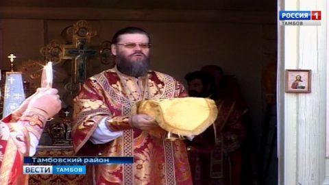 В Пантелеимоновском скиту провели Божественную литургию в День памяти Святого великомученика