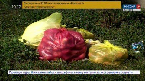 Жителей частных домов просят соблюдать график вывоза мусора