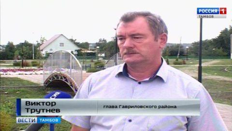 Виктор Трутнев, глава Гавриловского района