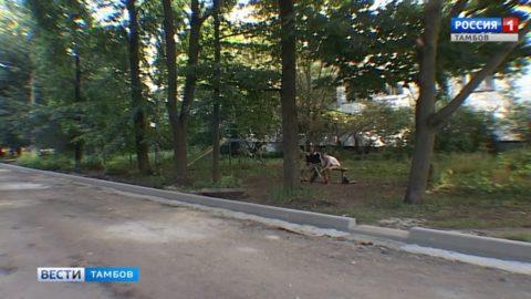 Процесс пошел: в 10-ти из 36 дворов Тамбова ведут благоустройство