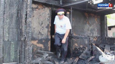 Герой нашего времени: инспектор ГИБДД вытащил женщину из огня