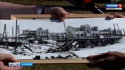 Тамбовчане принимают участие в торжествах, посвящённых 75-летию Курской битвы