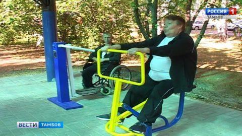 Делай как мы: спортивная площадка для пожилых людей в Сосновском районе