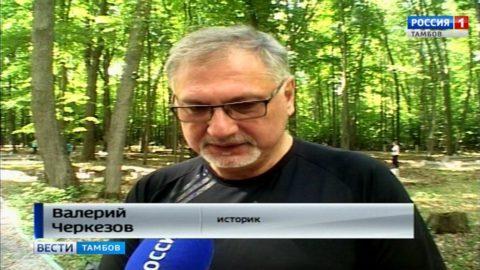 Валерий Черкезов, историк