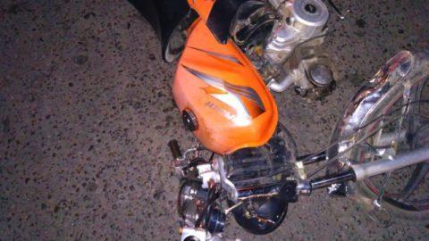 17-летний подросток на мопеде попал под колеса «легковушки» в Петровском районе